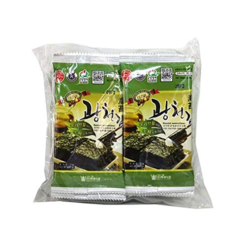 Korea Seaweed with Olive Oil Lunch Pack 2g x 10packs by Baekje Food