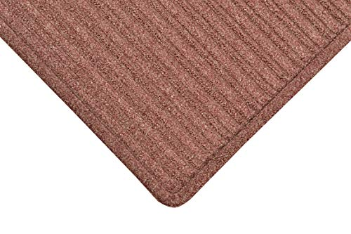 Notrax 161 Barrier Rib Entrance Mat, for Home or Office, 4' X 10' Burgundy