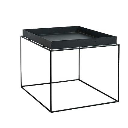 Amazon Com Xbbz Iron Black Side Table Simple Modern Small Iron