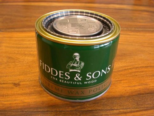 Fiddes and Sons Supreme Wax Polish 400milliliter - Stripped Pine