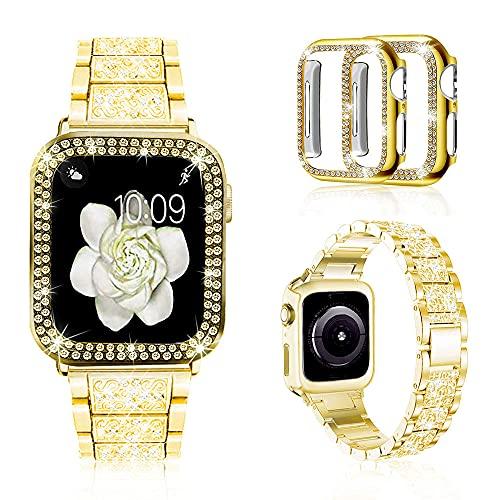 Malla Para Apple Watch 44mm Series 6/5/4/3/2/1 - Gold