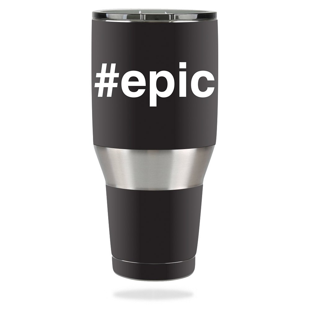 MightySkins Skin For Ozark Trail 40 oz Tumbler – Epic | Protective, Durable, and Unique Vinyl Decal wrap cover | Easy To Apply, Remove, and Change Styles | Made in the USA