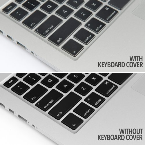 UPPERCASE Premium Ultra Thin Keyboard Protector for Macbook Pro with Retina Display 13 15