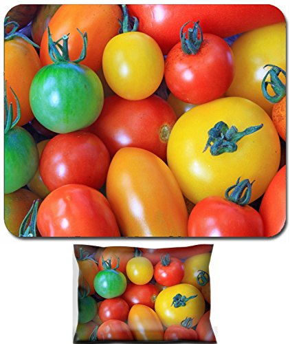 - Liili Mouse Wrist Rest and Small Mousepad Set, 2pc Wrist Support ID: 23241521 Various types of tomatoes in many colors Solanum lycopersicum