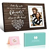 Friend Picture Frame Gifts for Friend, Long