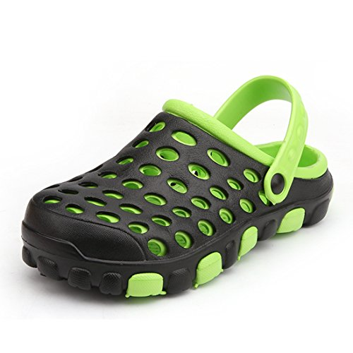 Minotta Homme Mules Green Men Black 660rqB