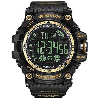 WINTER DONG Smartwatch, Reloj Inteligente IP68 Impermeable Bluetooth SmartWatch con Múltiples Modos de Deportes, Fitness Tracker, Monitor de Dormir