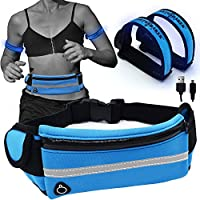 Earthshaker Running Belt with USB Rechargeable LED Safety...