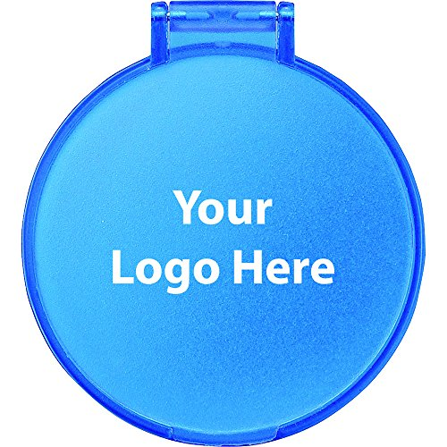 Glimmer Round Mirror - 500 Quantity - $0.70 Each - PROMOTIONAL PRODUCT/BULK/BRANDED with YOUR ()