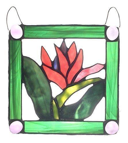 Stained Glass Bird of Paradise, Bird of Paradise, Decorative Window Panel, Large Suncatcher,