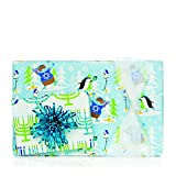 Peguines & Trees/Hanukkah Candles Double Sided Gift Wrap 24'' x 417' (Wraps Approximately 200 Gifts)