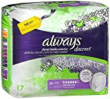 Always Discreet Bladder Protection XL Moderate - 3pks of 17, Pack of 3