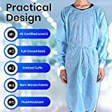 50-Pack Disposable Isolation Gown, FDA