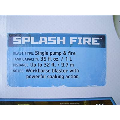 Super Soaker Splashfire with Large Capacity Tank: Toys & Games