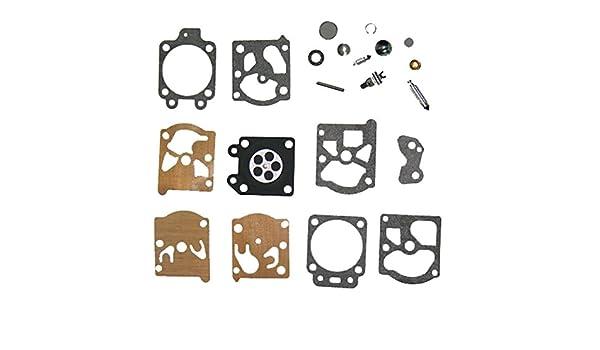 oxoxo carburador Rebuild Kit de diafragma aguja Kit de ...