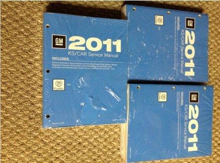 2011 CADILLAC DTS D T S Service Shop Repair Manual SET OEM BRAND NEW 11