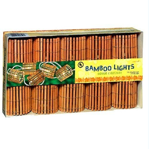 Bamboo Patio Lights String in US - 9