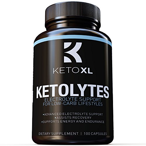 (Keto Electrolyte Tablets | Hydrating Electrolyte Replacement Supplement Perfect for Low-Carb and Keto Diet | Boost Energy, Stamina, Recovery | Replenish Magnesium, Chloride, Potassium,)