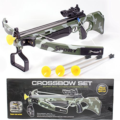 [Toy Crossbow for kids with Scope & Arrows, Archery Compound Bow 27