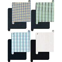 Siyaram's Men's Poly Cotton Lining Shirt and Trouser (Mix Colour, Large)