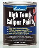 Eastwood Long Lasting Heat Resistant Red Caliper Paint 16 oz with Mixing Cup
