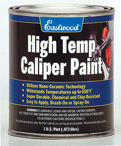 Eastwood Long Lasting Heat Resistant Red Caliper Paint 16 oz with Mixing Cup by Eastwood (Image #3)