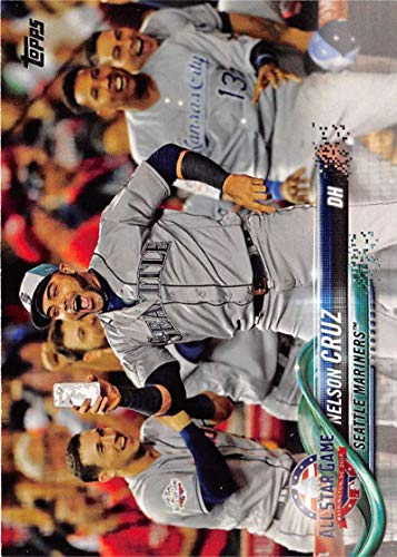 2018 Topps Update and Highlights Baseball Series #US182 Nelson Cruz Seattle Mariners Official MLB Trading Card