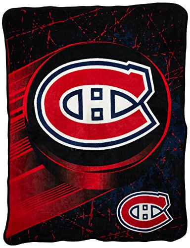The Northwest Company Officially Licensed NHL Ice Dash Micro Raschel Throw Blanket, 46