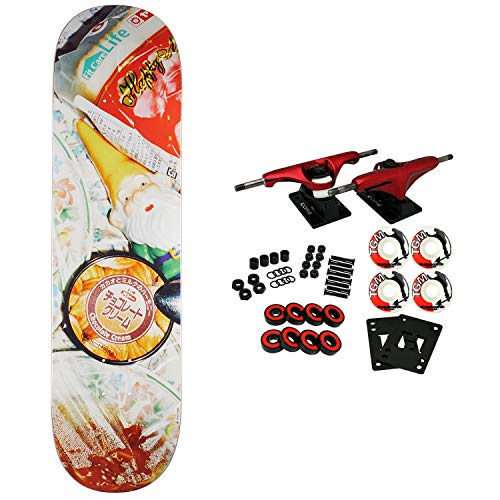 Koston Wheels - Numbers, Skateboard Complete Koston Edition 6 Series 2 8.25