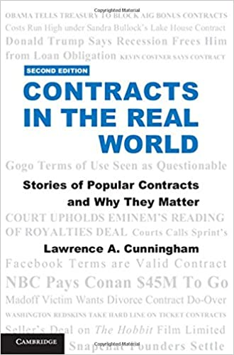 Contracts in the Real World: Stories of Popular Contracts