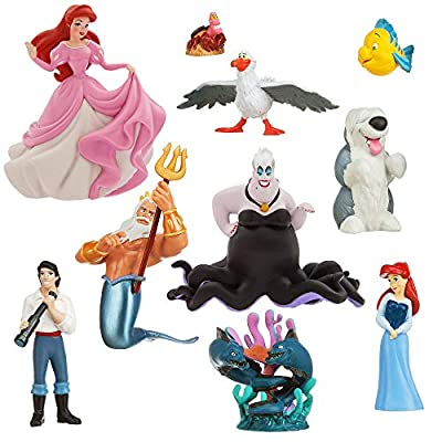 Disney The Little Mermaid Deluxe Figure Play Set: Toys & Games