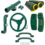 Swing Set Stuff Deluxe Accessories Kit (Green) with SSS Logo Sticker