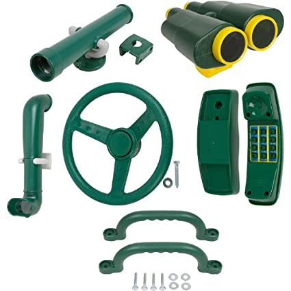 Amazon Com Swing Set Stuff Deluxe Accessories Kit Green With Sss