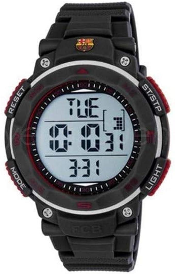 Radiant Reloj Hombre de Digital con Correa en Caucho BA02601