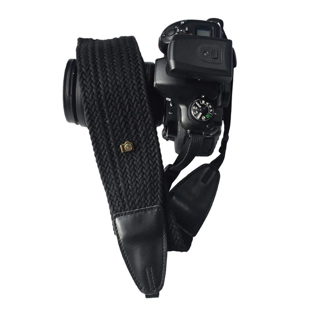 Delleu - Correa de Hombro para cámara réflex Digital Canon, Nikon ...