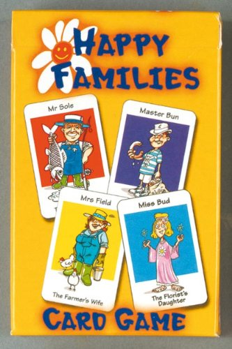 Happy Families - Family Fun Playing Cards