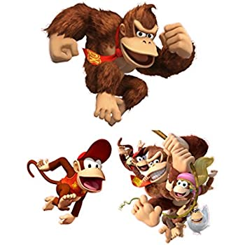 Donkey Kong Room Decor Giant Wall Decals