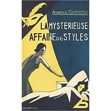 MYSTÉRIEUSE AFFAIRE DE STYLES (LA) : FAC SIMILE