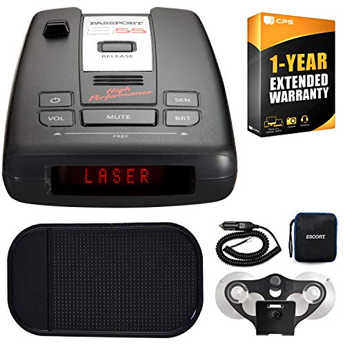 - Escort Passport S55 High Performance Radar Laser Detector Car Mat Bundle