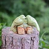 GTVERNH-Bird Bird Animal Ceramic Ashtray Ashtray Home Furnishing Fashion Ornaments B