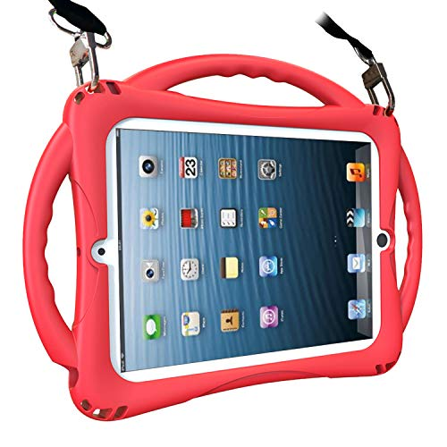 TopEsct iPad 2 Case for Kids. Soft Silicone Childproof Handle Stand Case for Apple iPad 2nd Generation,iPad 3rd Generation,iPad 4th Generation (iPad 2/3/4, ()