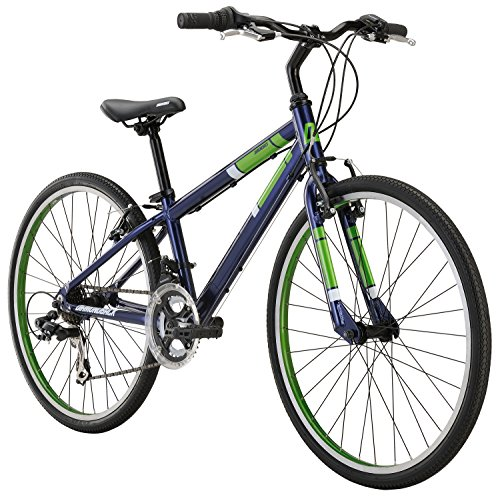 Best of Diamondback Bicycles Insight 24 Kid's Hybrid Bike, 24″ Wheels, Blue