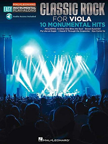 Download Classic Rock: Viola Easy Instrumental Play-Along Book with Online Audio Tracks (Hal Leonard Easy Instrumental Play-Along) ePub fb2 book