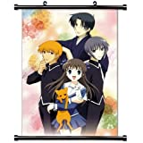 "Fruits Basket Anime Fabric Wall Scroll Poster (16"" x 22"") Inches. [WP]-Fruits Basket-145"