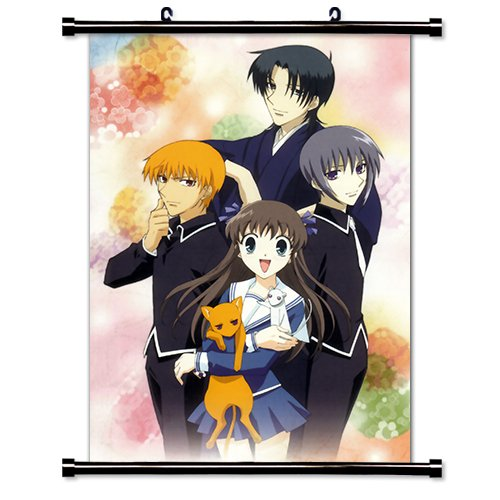 Fruits Basket Anime Fabric Wall Scroll Poster (16