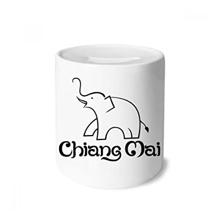 Amazon com: DIYthinker Thailand Easy Elephant Shield Money Box