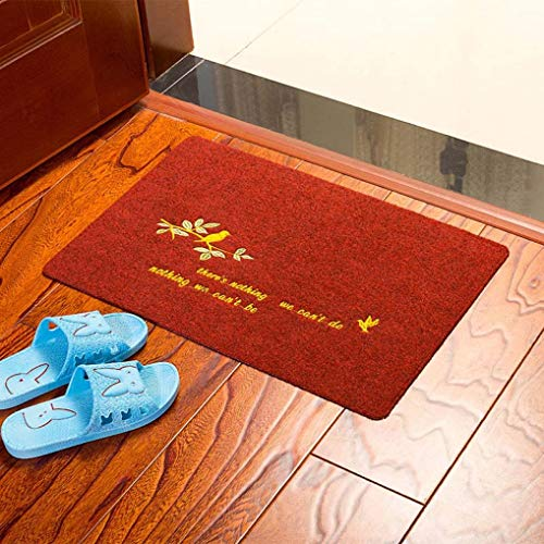 4060cm Living Room Bedroom Door Carpet Anti-Slip Entrance Cleaning Shoes Carpet Welcome to My House Floor Mat