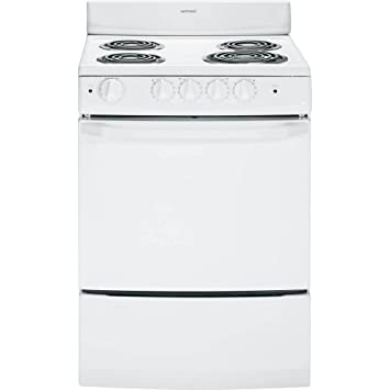 stove 24 inch. hotpoint ra724kwh 24-inch 3 cu.ft. free-standing electric range, stove 24 inch