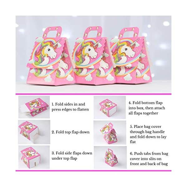 Unicorn Party Supplies 197 pc Set with Unicorn Themed Party Favors! Pink Unicorn Headband for Girls, Birthday Party… 7