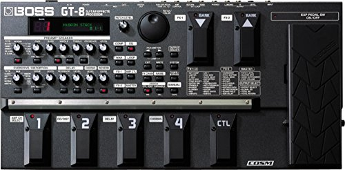 GT 8 Guitar Multi Effects Processor product image